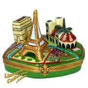 A fantastic Paris Landmarks monuments, the perfect gift for the travel enthusiast.  On sale now at LimogesCollector.com