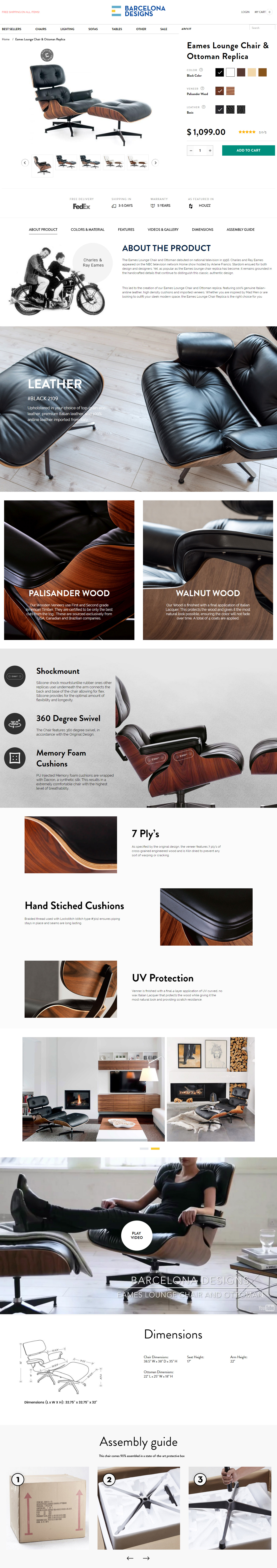 Vitra Lounge Chair Replica barcelona designs – the foremost us-canadian supplier of the
