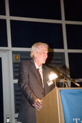 Commissioner Gary Bloch '81, recipient of the Outstanding Service to the Community Award