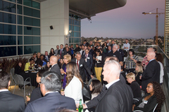 Packed crowd at 9th Annual Judicial Mixer and Alumni Awards Reception