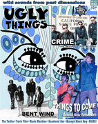 UGLY THINGS MAGAZINE COVER WINTER 2016-17 ISSUE