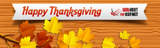 To celebrate Thanksgiving Day, WebHostForASP.NET is giving out 40% discount on all web hosting plans from November 23 un…