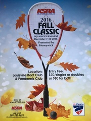 Louisville Software Development and Web Marketing Company Sponsors 2016 Fall Classic Squash Tournament at Louisville Boa…