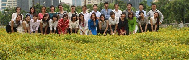 Team members of Viet Center Tourist.,ltd (VietnamTourPedia.com)