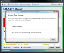 Do not believe reports from Data Recovery. Do not activate Data Recovery.