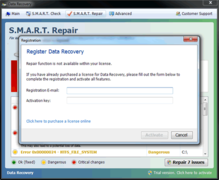Data Recovery's full version will not work even if you pay for it.