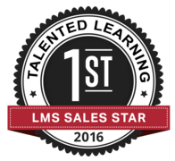 Gilles Defer, VP of Sales WBT Systems, was named #1 LMS Sales Star at the Talented Learning LMS Vendor Awards 2016. Mike Bourassa, Director Business Development WBT Systems, was 3rd LMS Sales Star.