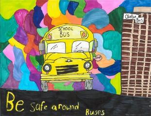 Kansas Student Named Latest Winner of First Student Artwork Contest