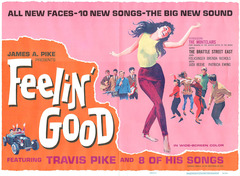 Feelin' Good half-size poster from 1966