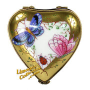 Find a fantastic selection of heart-shaped French Limoges boxes crafted by artisans in Limoges, France offered at LimogesCollector.com