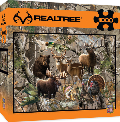 New MasterPieces Realtree Puzzle