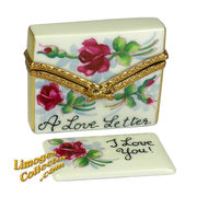 """Say """"I love you"""" with a magnificent hand-painted French Limoges box from LimogesCollector.com"""