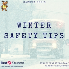 First Student Offers Top 12 Winter Safety Tips for Students, Parents and Drivers