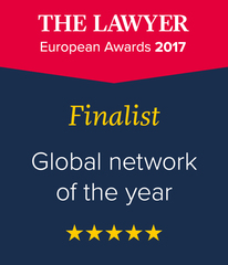 "International Lawyers Network Shortlisted as Global Network of the Year by ""The Lawyer"" for Second Year"