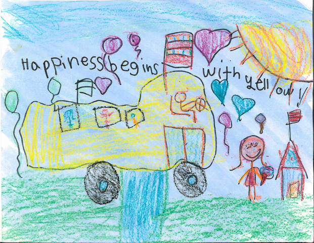 Latest winning entry selected in First Student Artwork Contest