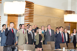 New Thomas Jefferson School of Law Alumni Association Board Sworn-In