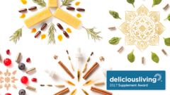 Delicious Living 2017 Supplement Award