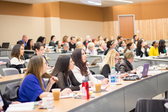 Packed audience at the 17th Annual Women and the Law Conference