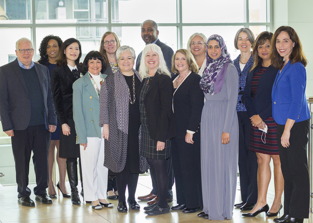 Speakers and panelists at the 17th Annual Women and the Law Conference