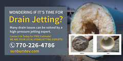 Is it time for Drain Jetting?
