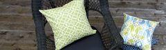 Outdoor decorative pillows from www.pillowsforhope.com