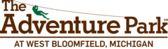 The logo of The Adventure Park at West Bloomfield.