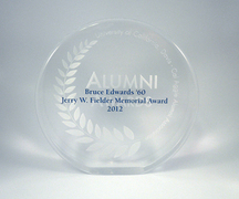 Alumni award, University of California, Davis