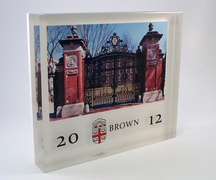 Brown University Lucite commemorative