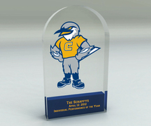 """Scrappy"" athletic award, University of Tennessee at Chattanooga"