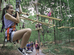 Natural thrills and fun in the trees at The Adventure Park. (Photo: Outdoor Ventures)