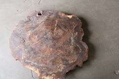 Marwood Manufacturing also offers hardwood cookies which are similar to slabs except they're round instead of elongated boards. They are often used to make patio tables, end tables and nightstands.