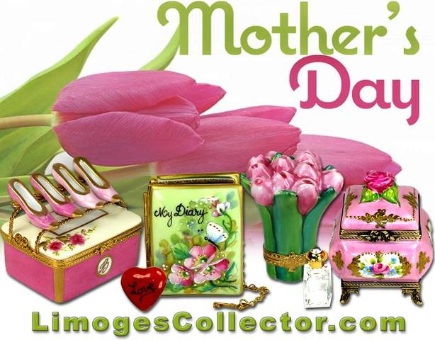 Find a fantastic selection of memorable Mother's Day Gifts to impress mom at LimogesCollector.com