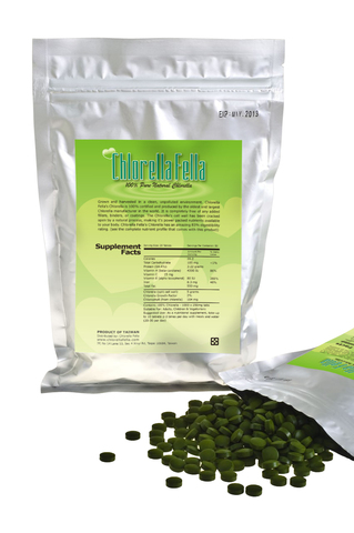 Chlorella Fella Products