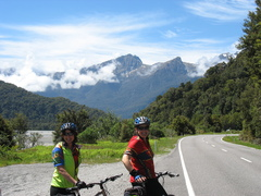 Cycle tour in South Island New Zealand