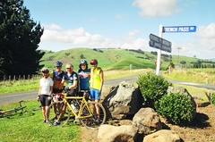 Cycling in the North Island of New Zealand
