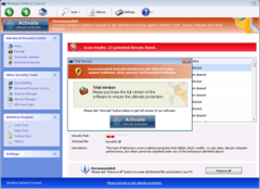 Windows Defence Counsel's trial or paid version will not fix any of your PC issues.
