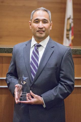 Mark T. Cumba with Edward D. Ohlbaum Professionalism Award