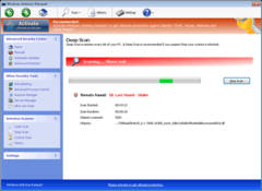Windows Antivirus Rampart does a fake system scan to fool PC users into believing there's a problem.
