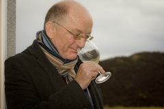 Oz Clarke now nose what the first smell of Sark wine is like