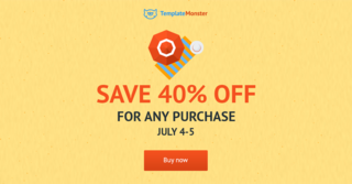TemplateMonster July Promos - Not Limited to July 4th Celebration Only