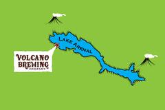 Lake Arenal Map