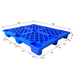 WeePallet Introduces ISO Certified 4 Way Entry Standard Plastic Pallets