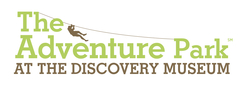 The Adventure Park at The Discovery Museum is operated by Outdoor Ventures Group, LLC in cooperation with The Discovery Museum and Planetarium