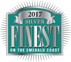 Double Fun Watersports Wins the Silver Award For The 2017 Finest on the Emerald Coast Reader's Choice Award