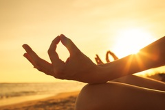 """Mindfulness connects """"spinning thoughts"""" to your body and experience in each moment which allows you to choose how you want to think, act, and feel while exercising control over your emotions."""