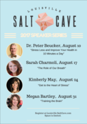 """The 2017 Speaker Series features many local experts in stress management including Megan who will be closing out the series with her session on mindfulness and """"Training the Brain""""."""