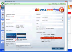 Windows Instant Scanner has a purchase window. PC users are warned not to provide their credit card information.