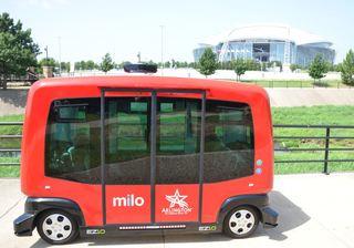 First Transit Brings Autonomous Vehicle Passenger Shuttles to Dallas Sports Fans