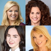 Clockwise: Melissa Peterman, Marissa Jaret Winokur, Teresa Ganzel, Sarah Gilman