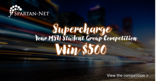 Spartan Net Launches Student Group Contest at Michigan State University Sparticipation Event